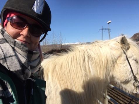 Hästselfie